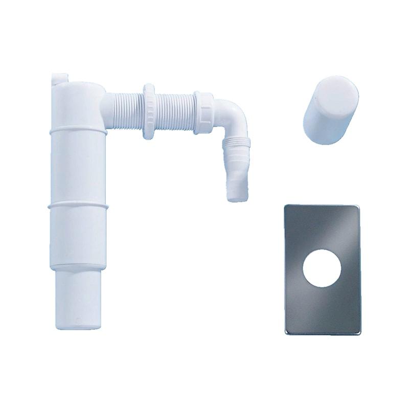 Unterputz Waschmaschinensiphon Standard - 1