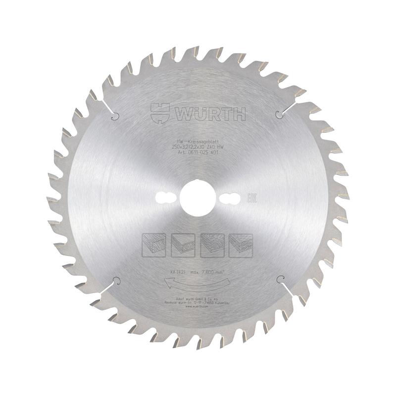 Standardkreissägeblatt - 1