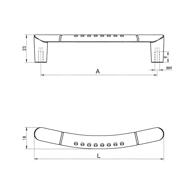 Möbelgriff Design ZD 22 - 2