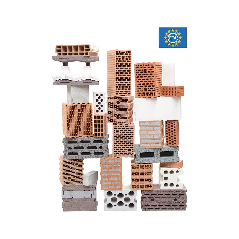 Kunststoff-Rahmendübel SHARK<SUP>® </SUP>UR 10, Stahl verzinkt - 5