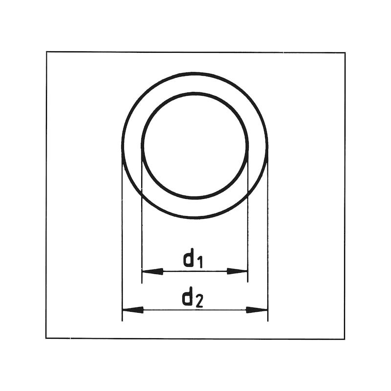Verschraubungsdichtung - VSHR-RG-DI-3/4ZO-27X38MM