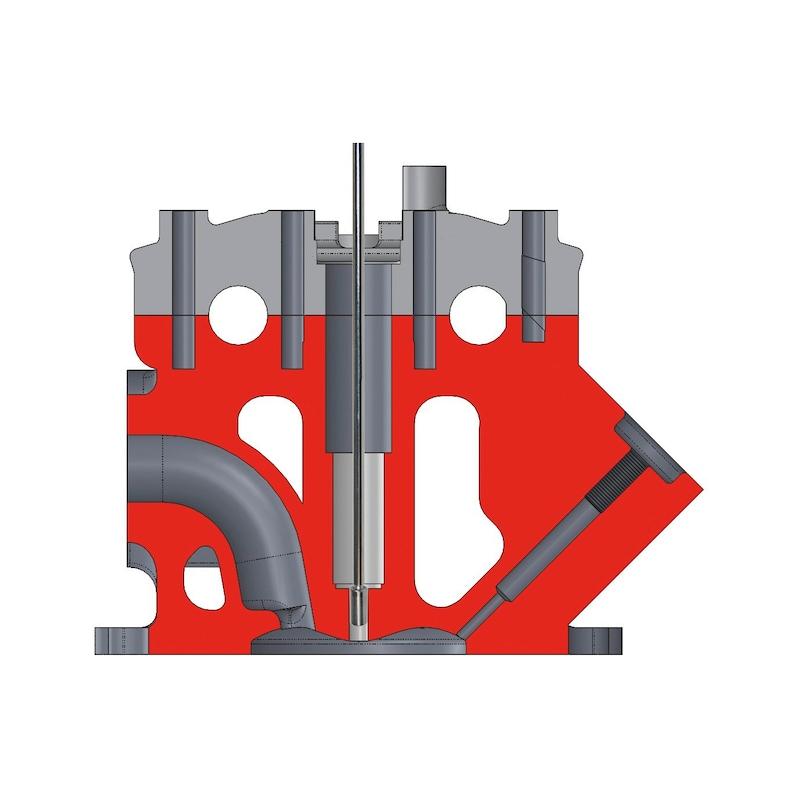 Injetor univ p/ limpeza assentos e kit de fresagem - KIT FRESAGEM E LIMPEZA DE INJETORES