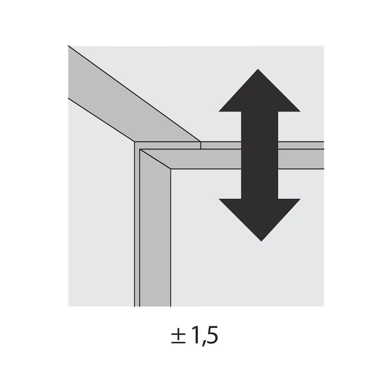 Führungsriegel-Set vorliegend SlideLine 55 Plus - 2