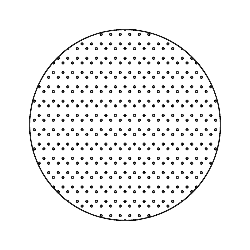 Schleifscheibe Useit Superpad KFZ - TSPAP-USEIT-P-KFZ-P100-D200MM