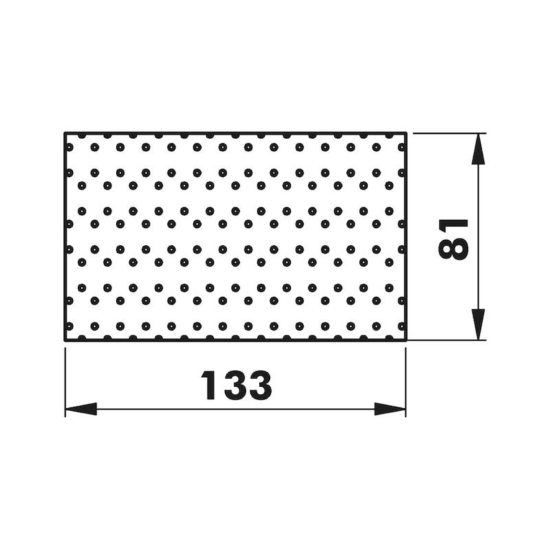 Schleifpapier-Streifen Useit<SUP>®</SUP> Superpad KFZ - 2