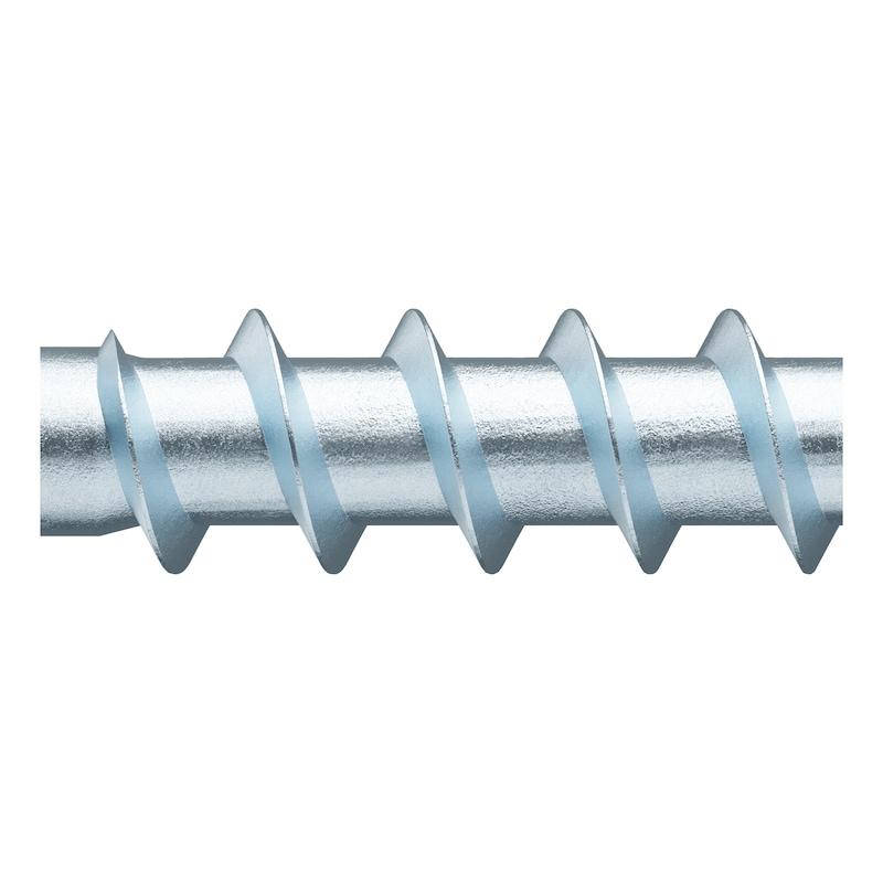 ASSY<SUP>®</SUP> 4 CS fittings screw Steel zinc plated full thread countersunk head - 4