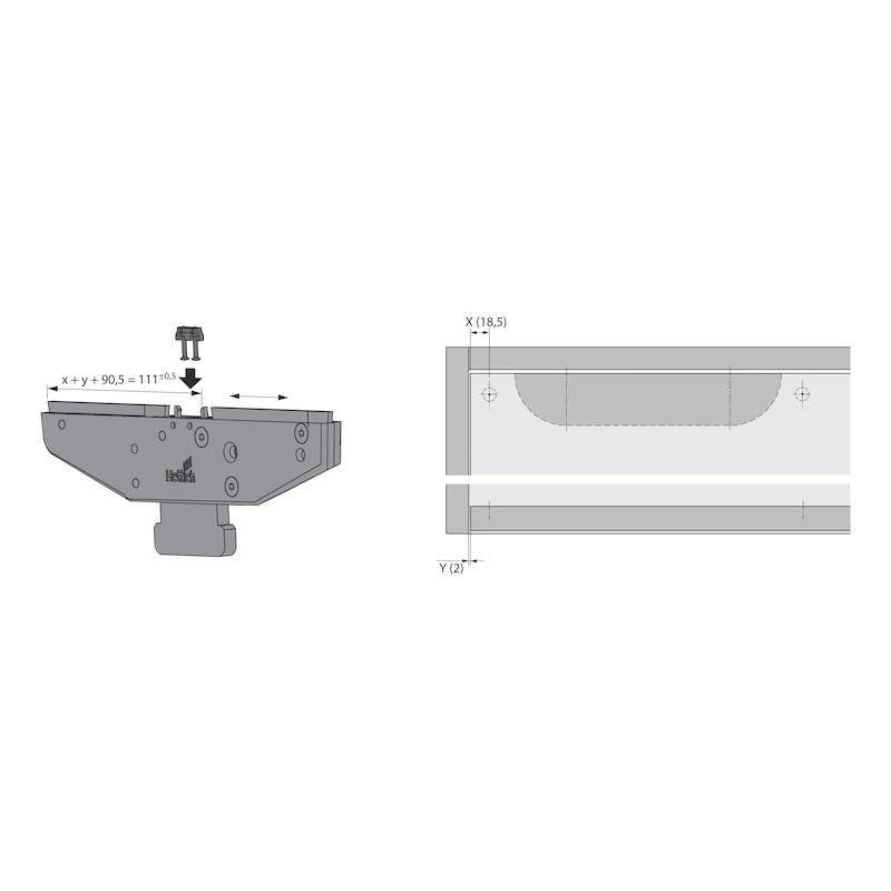 Montagehilfe Dämpfungs-Aktivator SlideLine 55 Plus - 2