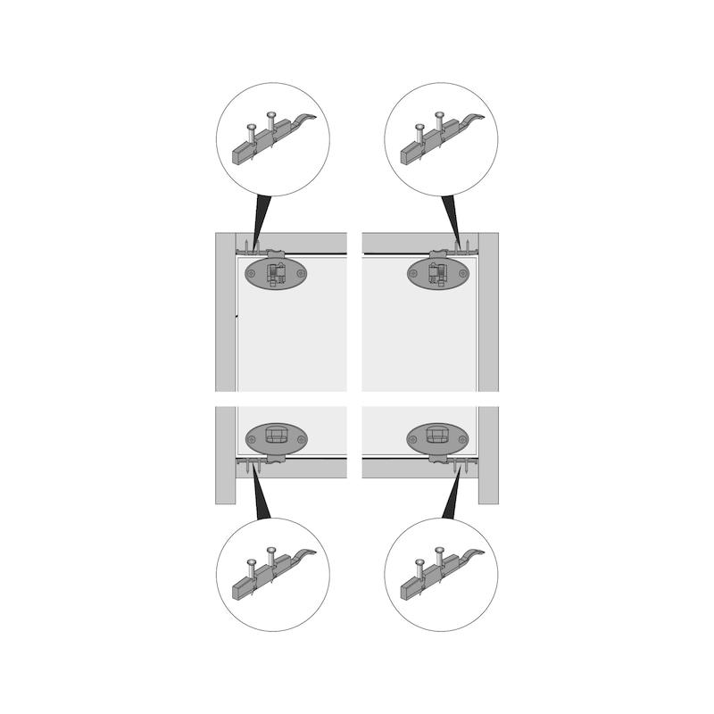 Montagehilfe Dämpfungs-Aktivator SlideLine 55 Plus - 3
