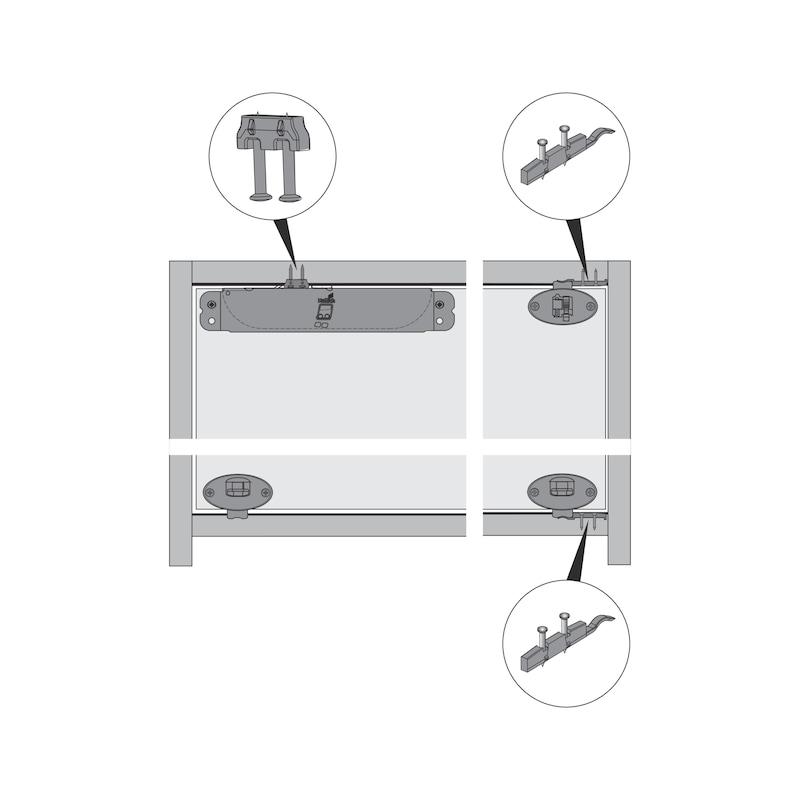 Montagehilfe Dämpfungs-Aktivator SlideLine 55 Plus - 4
