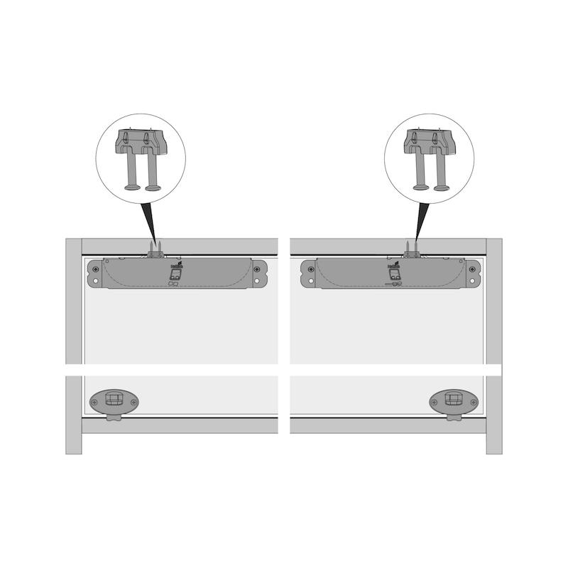 Montagehilfe Dämpfungs-Aktivator SlideLine 55 Plus - 5