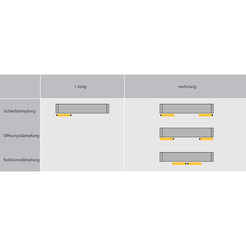 Schiebetürbeschlag SlideLine M - 7
