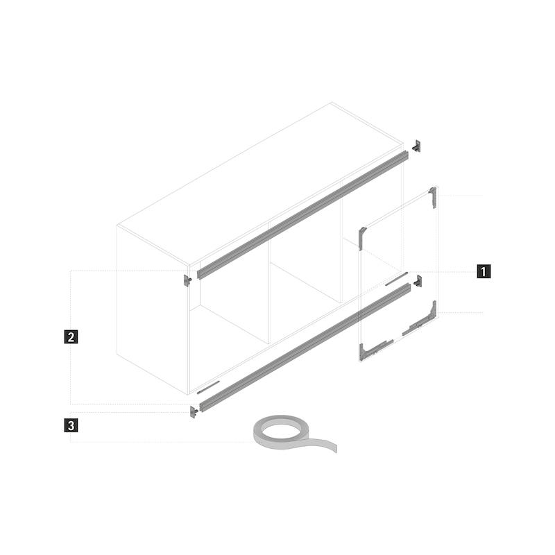 Schienen-Farb-Set SlideLine M - 2