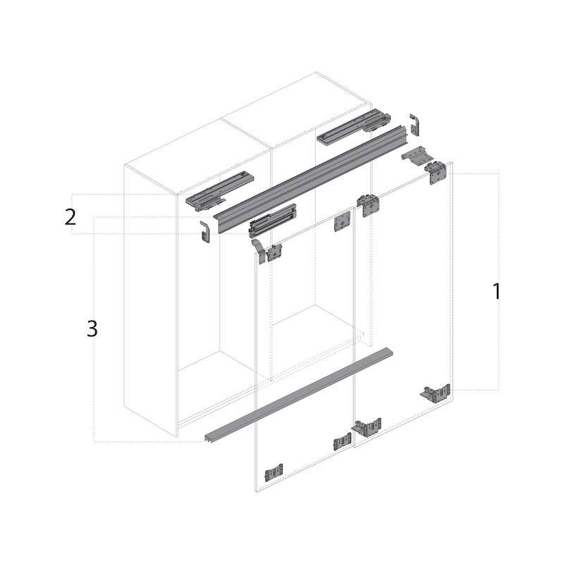Schließdämpfungs-Set TopLine L - 3