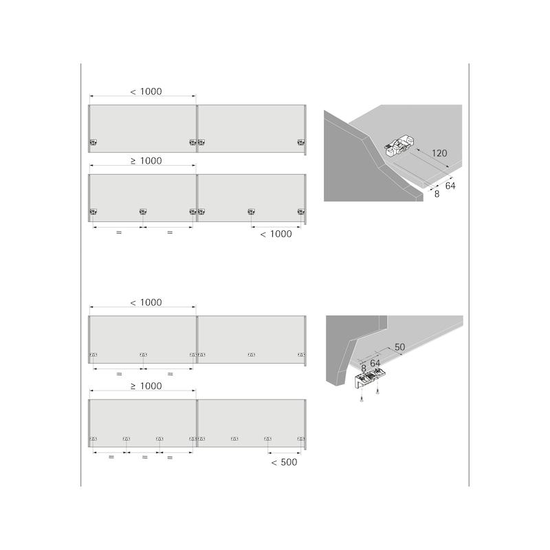 Schiebetürbeschlag TopLine XL - 9