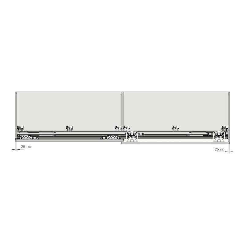 Schiebetürbeschlag TopLine XL - 11