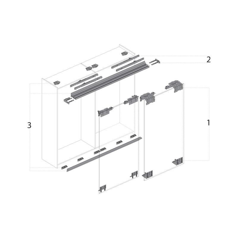 Schiebetürbeschlag TopLine XL - 12