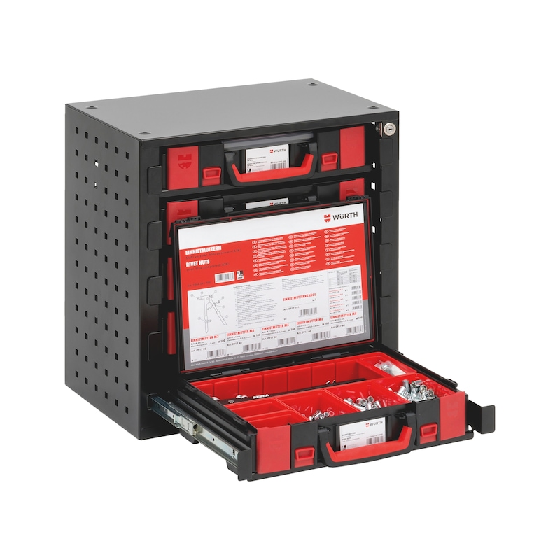 System stacking cabinet for ORSY system case 4.4.1 - 7