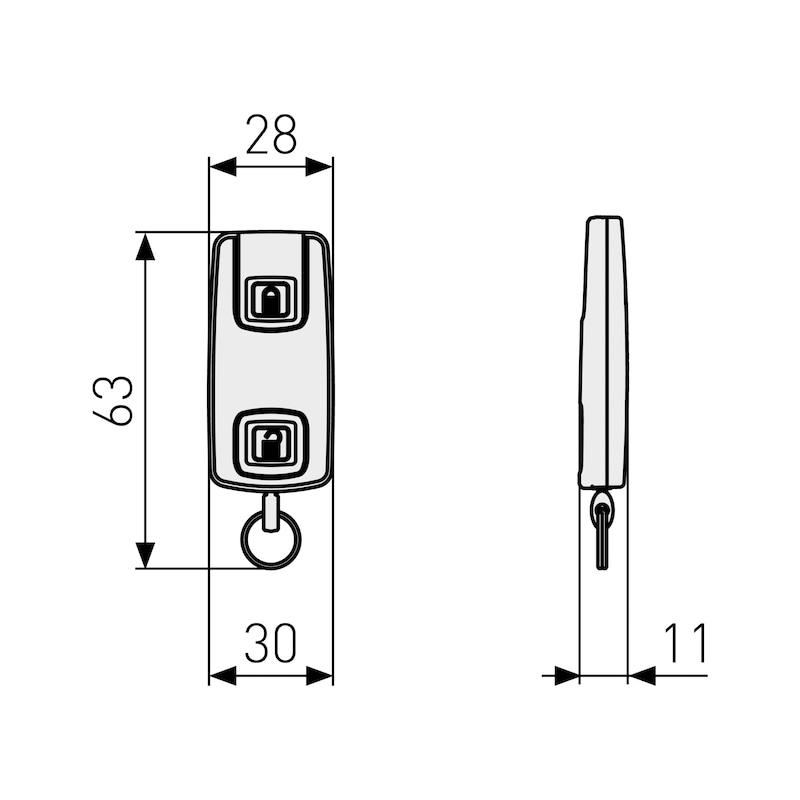 Handsender CFF3100 mit Bluetooth-Technologie - 2