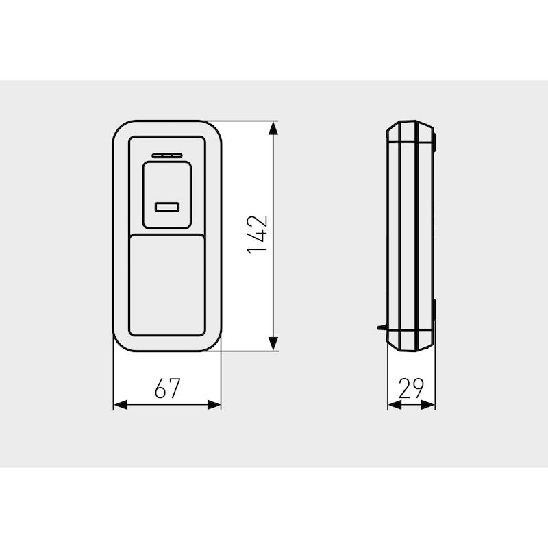 Fingerscanner CFS3100 mit Bluetooth-Technologie - 2