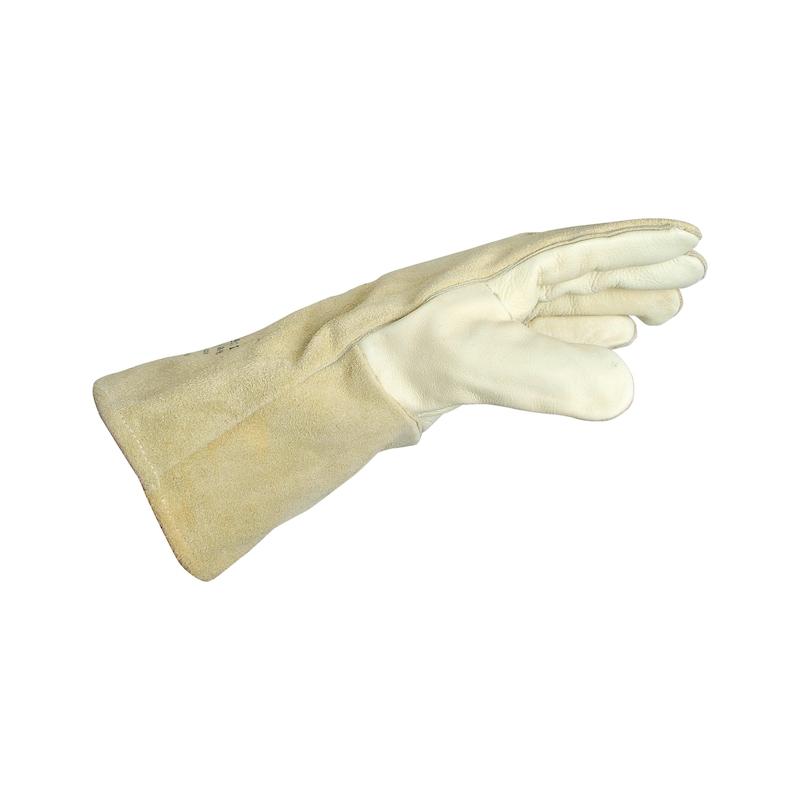 Schweißerhandschuh W-110 - SHWSHNDSHH-(W-110)-RINDSLEDER-GR10