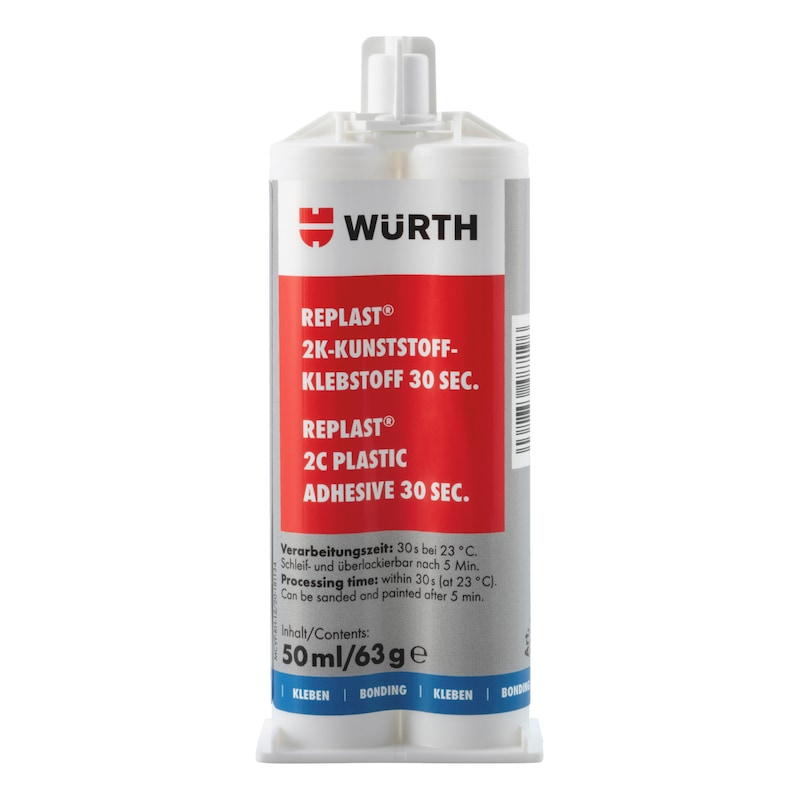 2K-Kunststoffklebstoff Replast<SUP>®</SUP> ME 30 Sek.