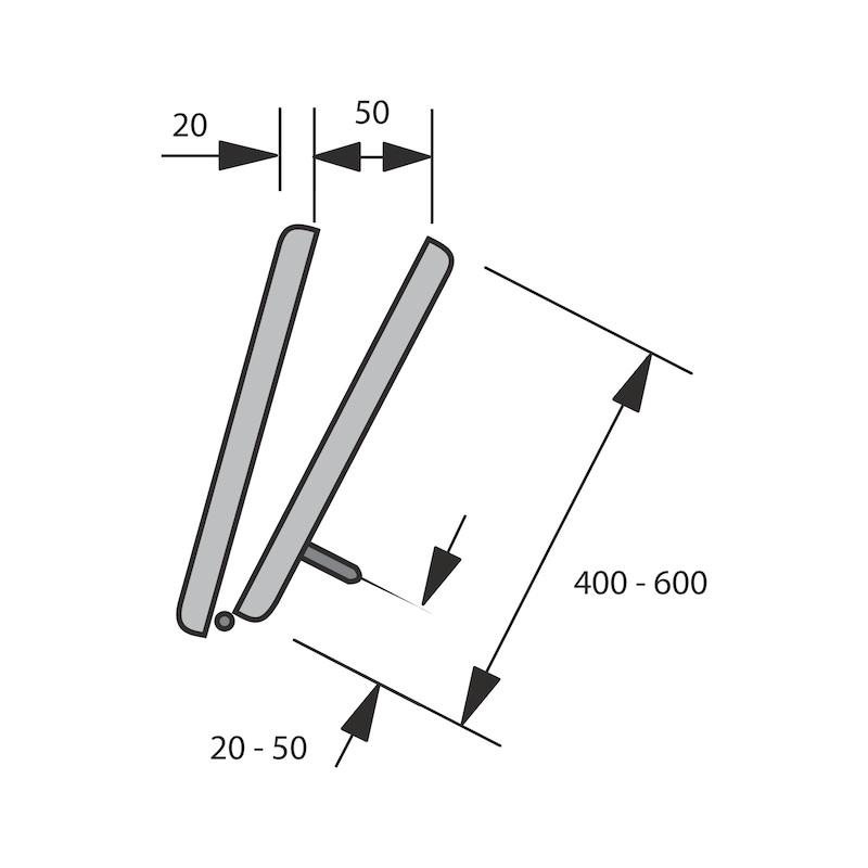 Falttürbeschlag WingLine 230 - 8