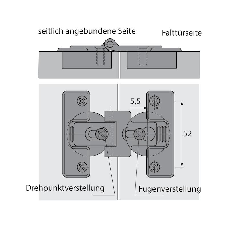 Falttürbeschlag WingLine 230 - 7