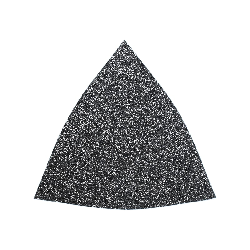 Triangle de papier abrasif sec auto-agrippant - ABRASIF TRIANG.N/PERF G80 / EMS400