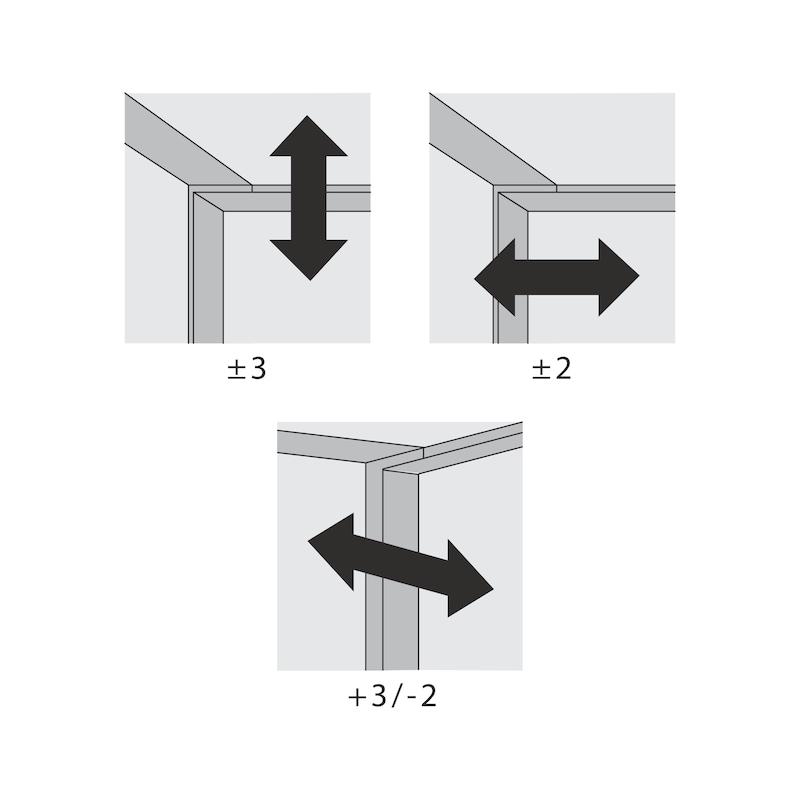 Falttürbeschlag ohne unterer Führunhg ohne Schließautomatik WingLine L - 5
