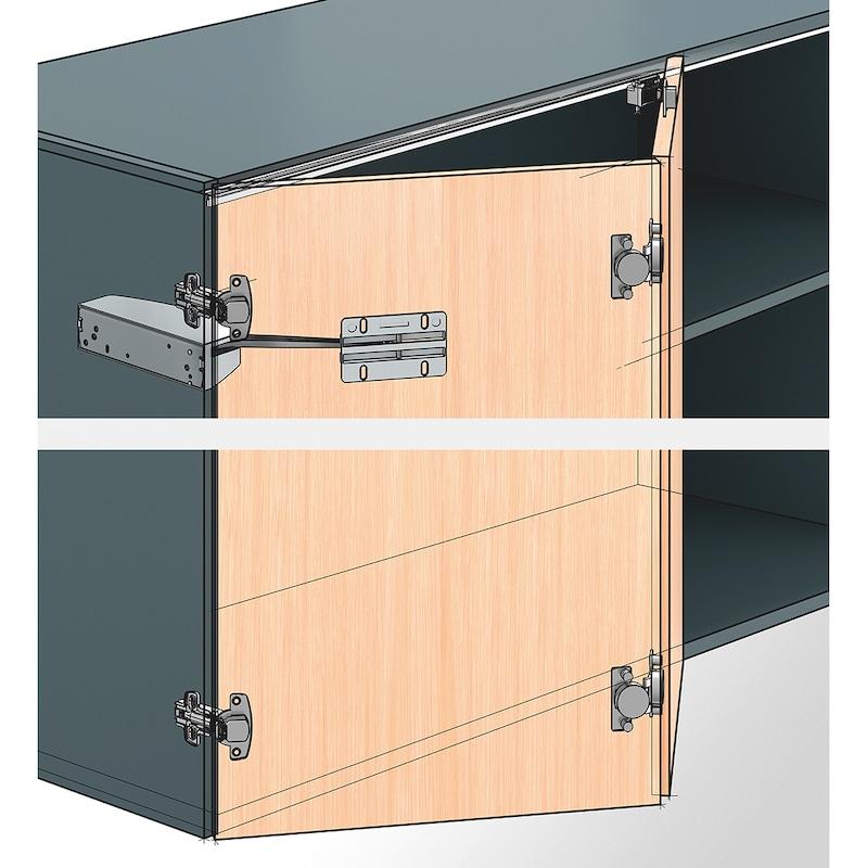 Falttürbeschlag mit Schließautomatik WingLine S - 2