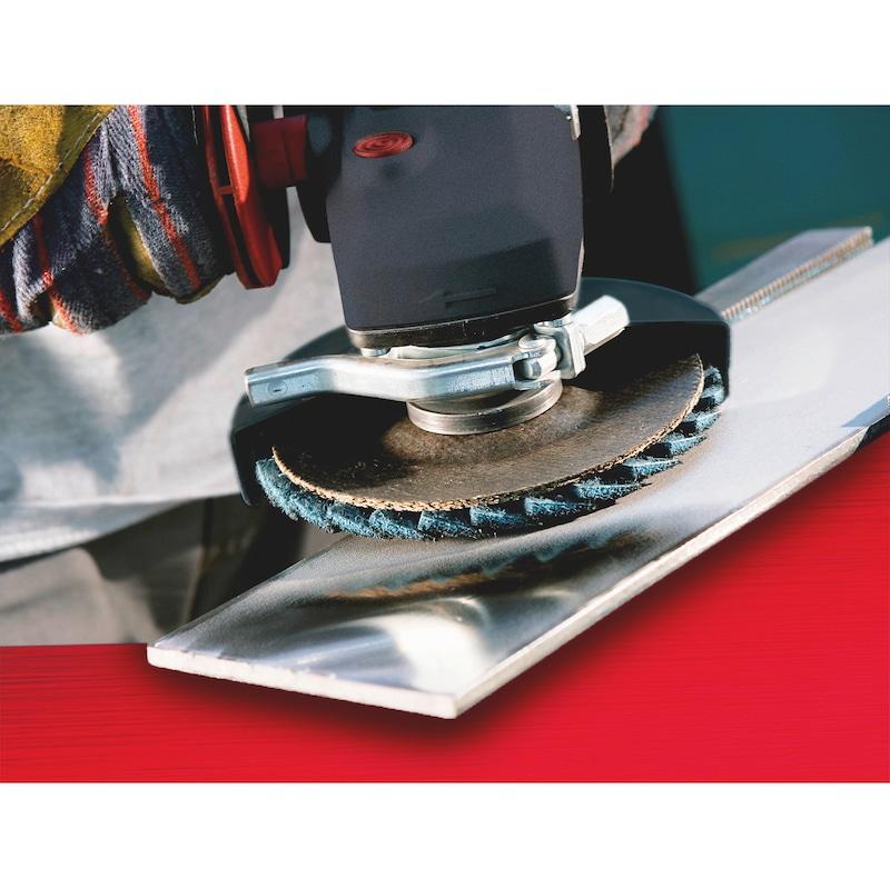 Listkowa tarcza szlifierska z włókniny - 4