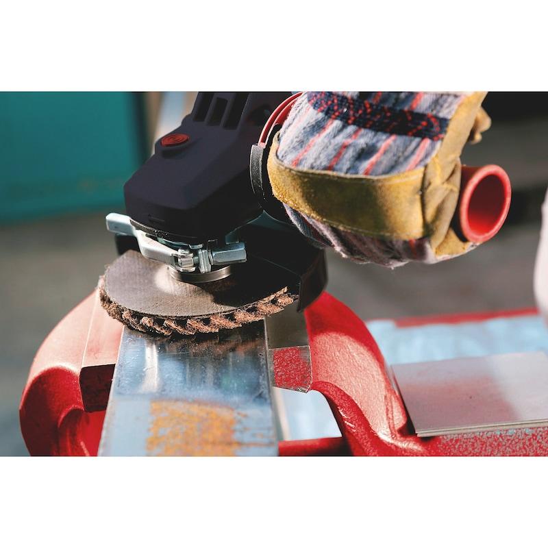 Listkowa tarcza szlifierska z włókniny - 6