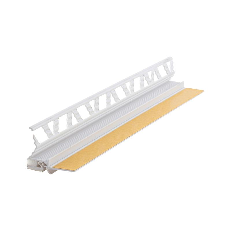 Anputzleiste 3D Membrane mit Schutzlippe - 1