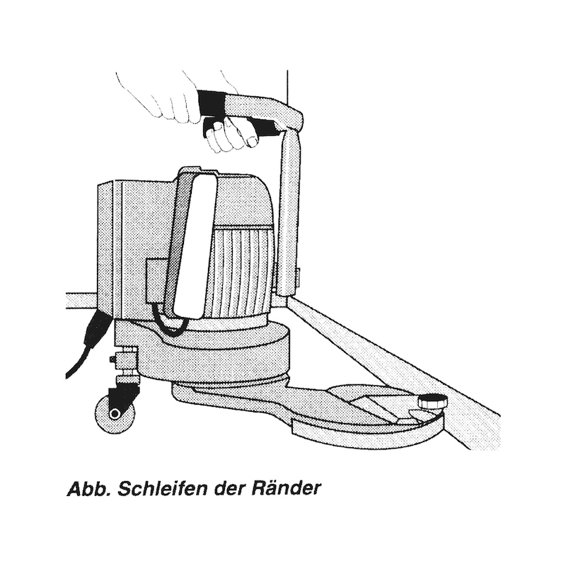 Schleifscheibe - TSPAP-SHB-KPE-P100-178MM