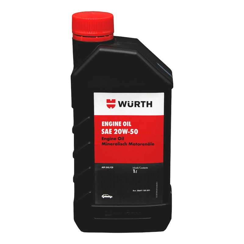 Engine Oil 20W -50 API SG