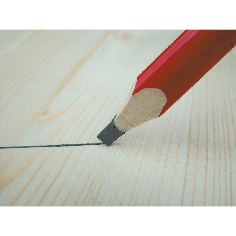 Crayon de menuisier, non taillé  - 2