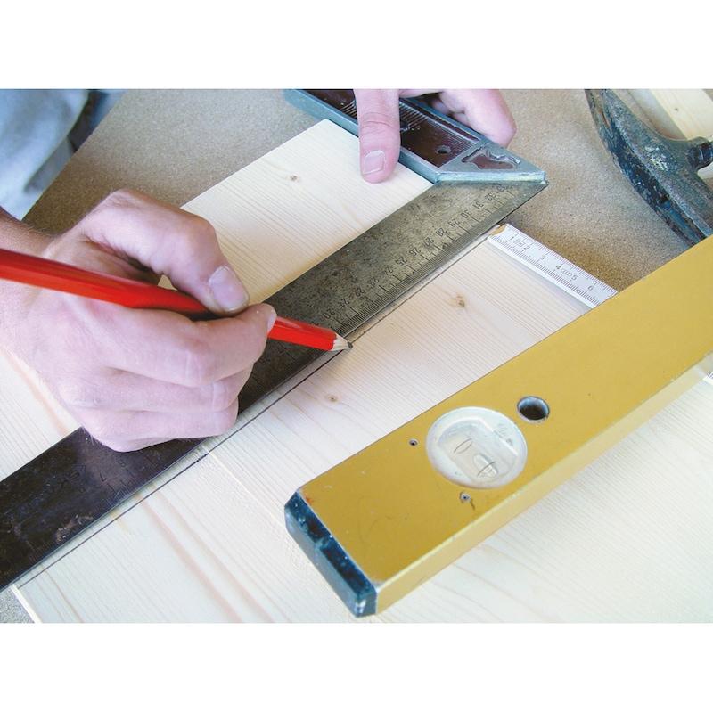 Crayon de menuisier, non taillé  - 3