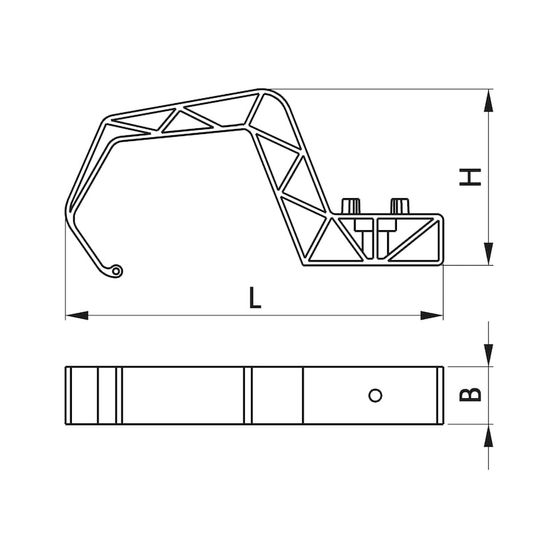 Attache multi-câble KSH 935 plus - 1