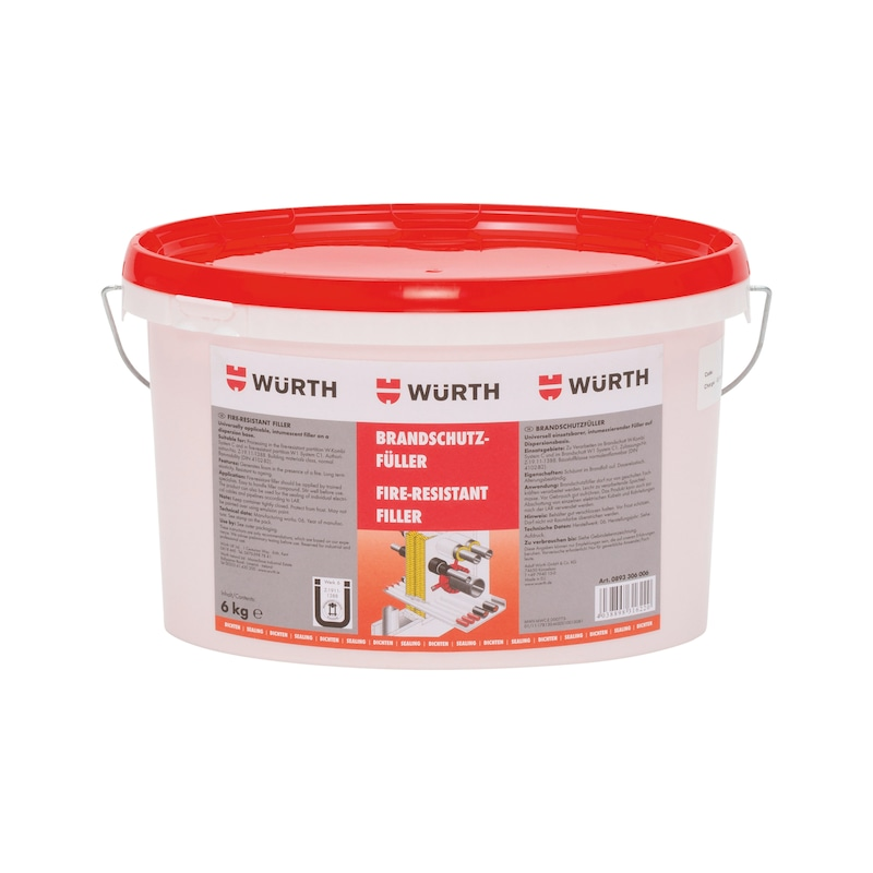 Fire-retardant filler