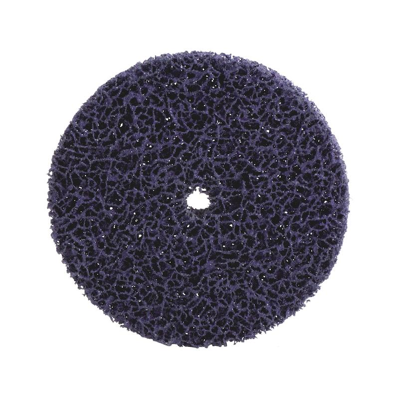Değiştirilebilir mandren milli mor, naylon zımpara keçesi diski - 1