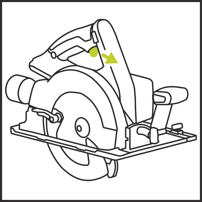 Akku-Handkreissäge AHKS 18-68 COMPACT M-CUBE - 3