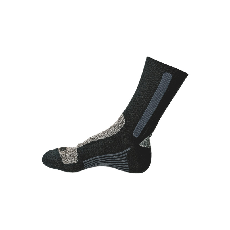 Socks - WORK SOCKS BLACK 39-42