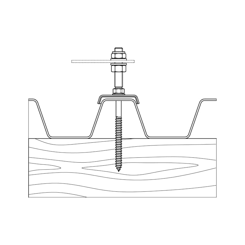 Solarbefestiger WSF Typ BZ-Variante 1 - 4