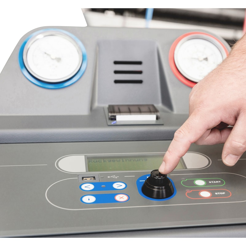 Klimaservicegerät NFZ COOLIUS<SUP>® </SUP>Y10 - 2