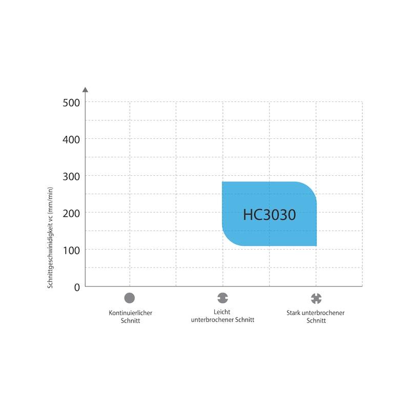 Wendeschneidplatte Hartmetall WNMG (Schruppen) - 2