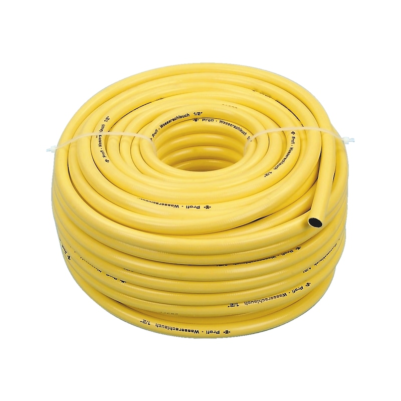 "Waterslang Professional - WATERSLANG 1"" GEEL (PER METER)"