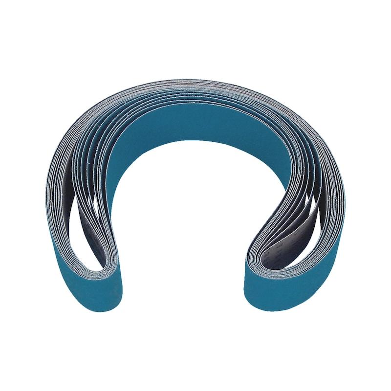Шлифовальные ленты, циркониевый корунд, для стационарных контактных шлифовальных машин - ШЛИФЛЕНТА-ZK-K60-50X2000MM