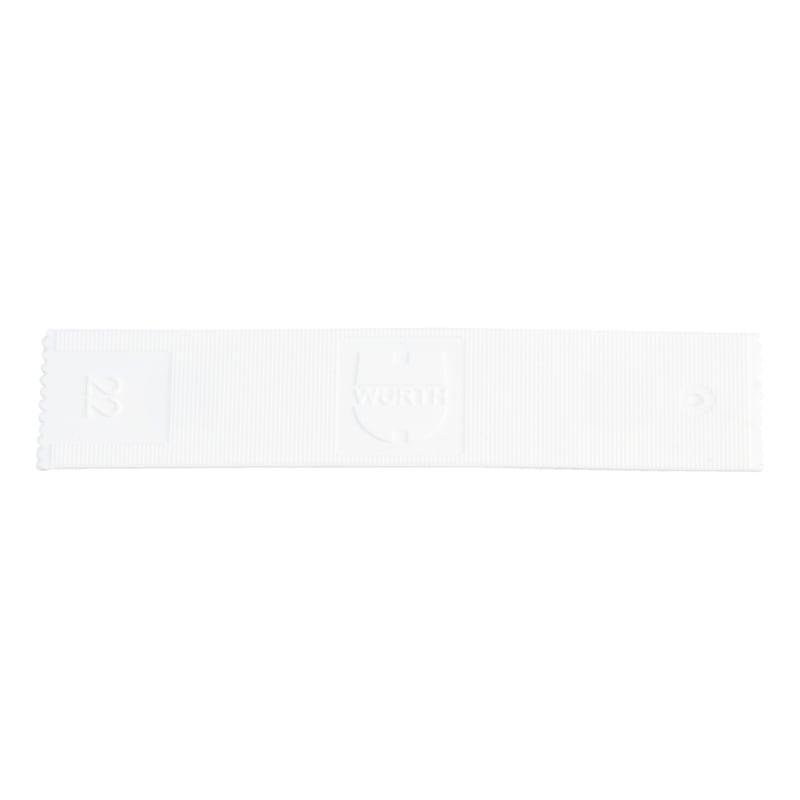 ガラス取り付けパッカー - ガラス用スペーサーブロック 幅22㎜ 厚さ1MM