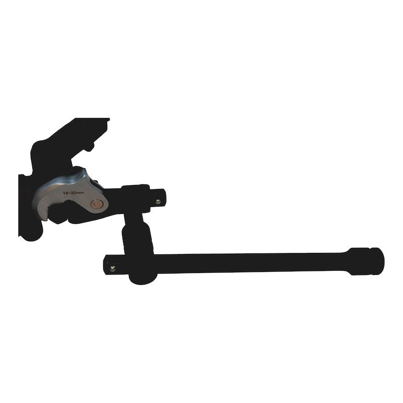 Universal crow wrench set 2 pcs - 2