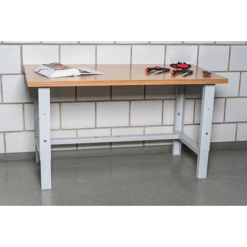 Werktisch BASIC, höhenverstellbar - 2